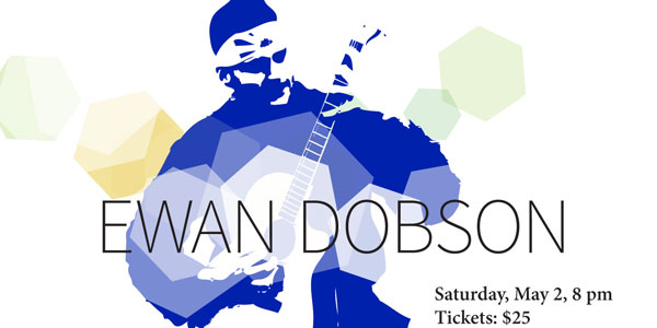 Ewan Dobson, Saturday, May 2, 2015, 8 pm