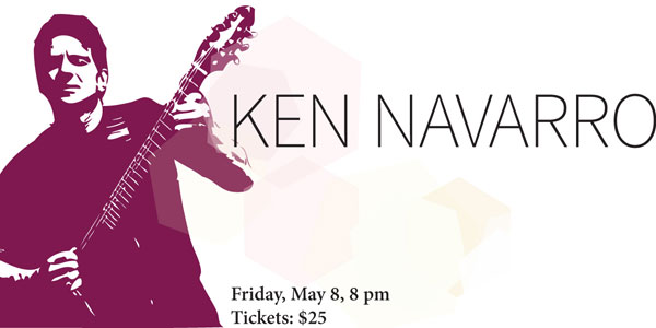 Ken Navarro, Friday, May 8, 2015, 8 pm