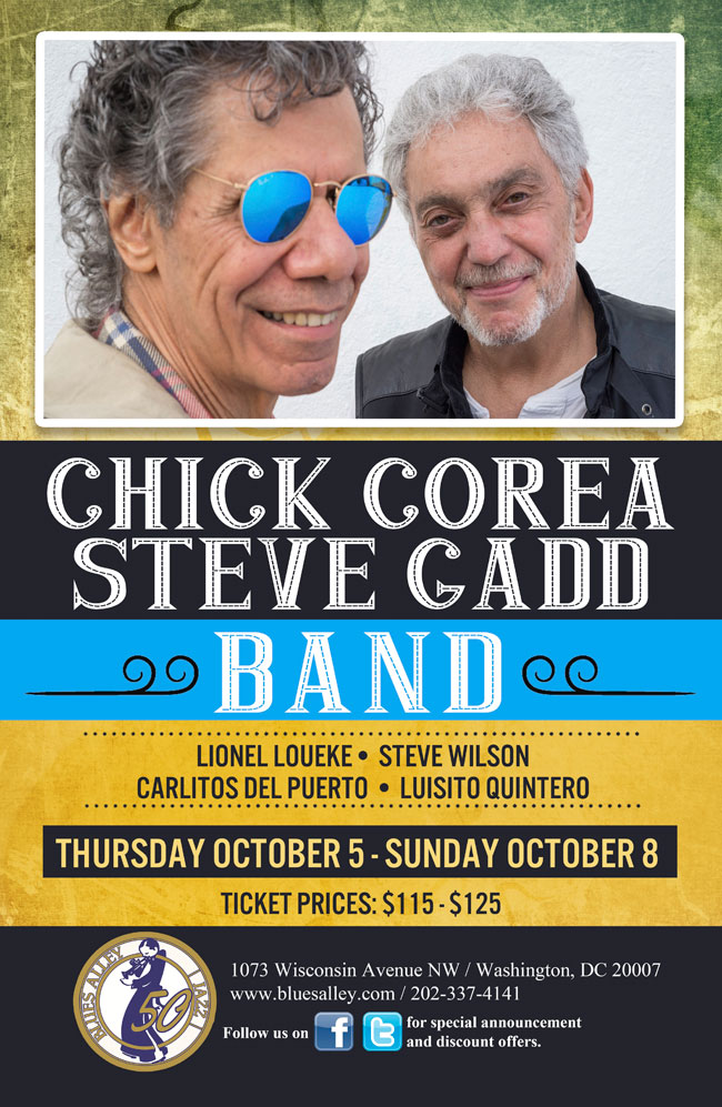 Chick Corea and Steve Gadd 10/5-8